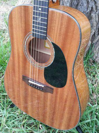 zad20 african mahogany acoustic guitar