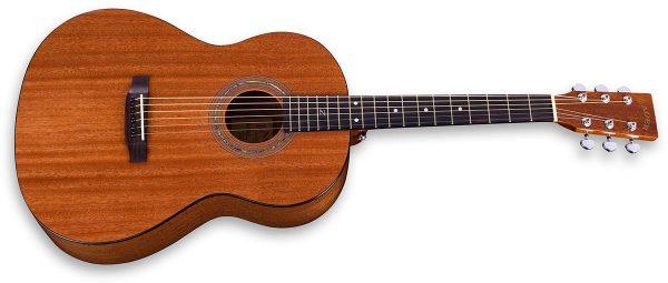 parlor size mahogany guitar