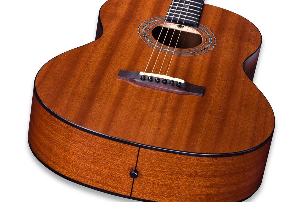 38 inch Parlor Size Solid African Mahogany Acoustic