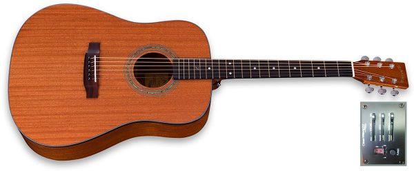 zad20e mahogany guitar