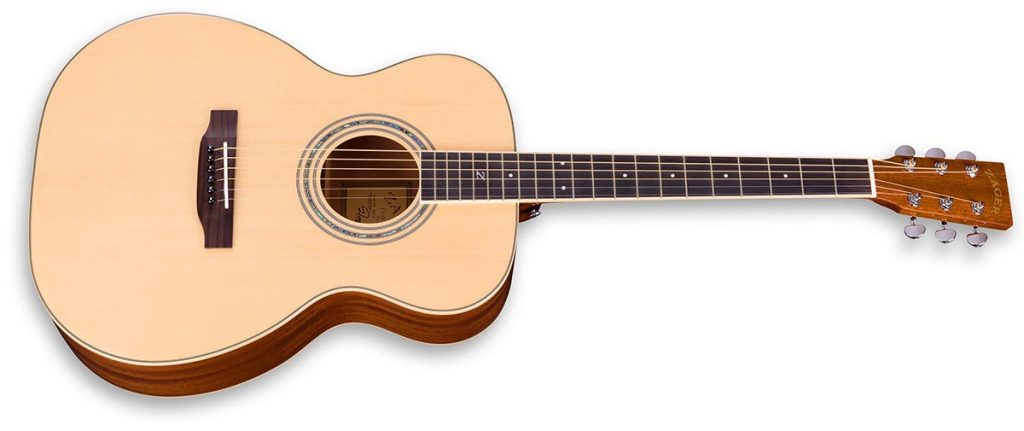 """ZAD50 Solid Spruce/Mahogany Acoustic Smaller """"OM"""" Size (Discount)"""