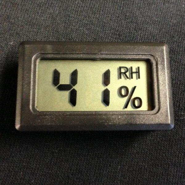 zager digital humidity sensor