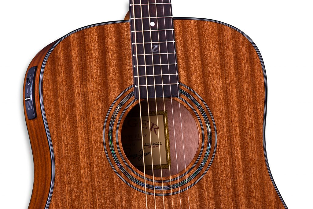 ZAD20E Solid African Mahogany Acoustic Electric