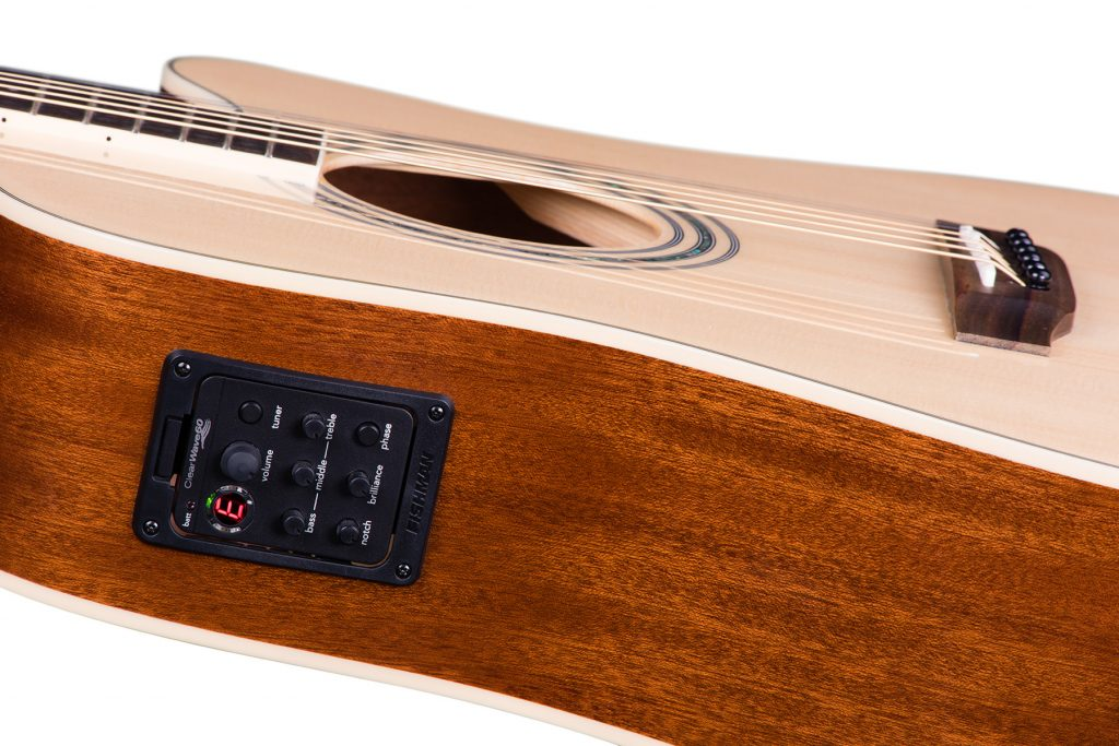 ZAD50CE Solid Spruce/Mahogany Acoustic Electric Natural
