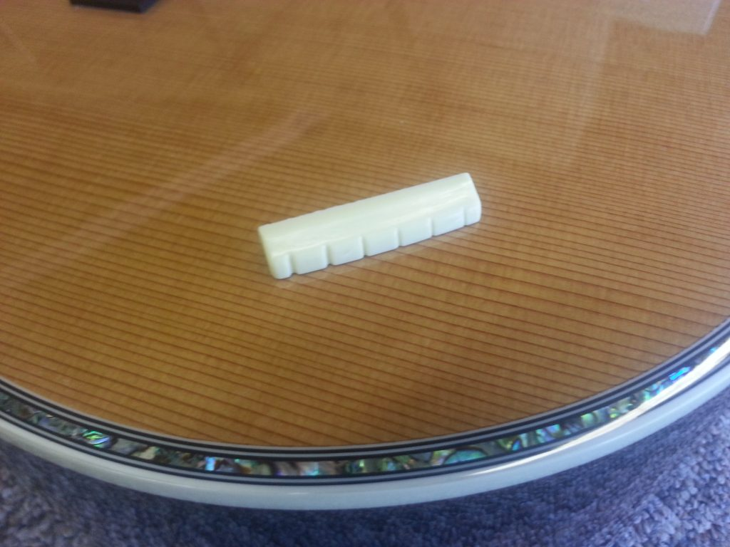Hand Carved Custom Guitar Nut