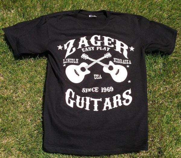 zager guitar t shirt