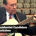 Mike Huckabee Plays Zager Guitars