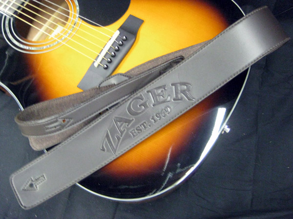 Zager Leather Padded Custom Strap