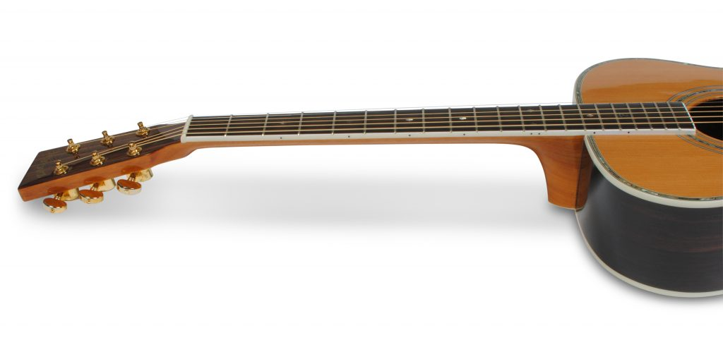 """ZAD80 Solid Cedar/Rosewood Acoustic Pro Series Smaller """"OM"""" Size"""