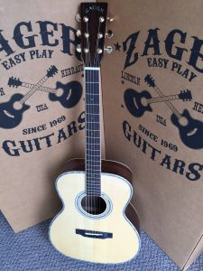 """ZAD900 Rosewood/Spruce Acoustic Pro Series Smaller """"OM"""" Size (Discount)"""