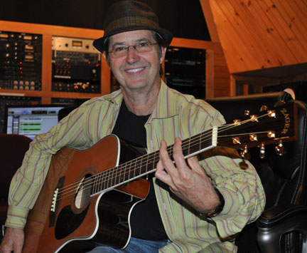 Garry Tallent in the Studio