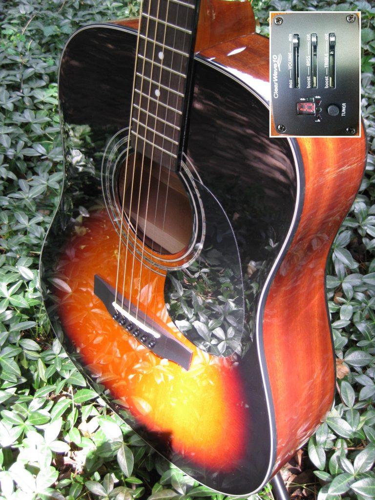 ZAD20E Solid Spruce/Mahogany Acoustic Electric Vintage Sunburst (Discount)