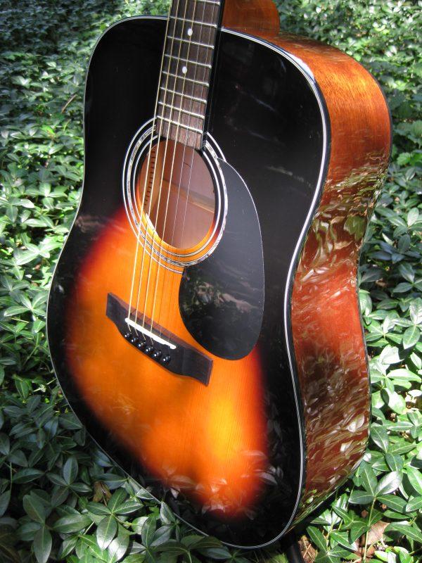 zad20 sunburst guitar