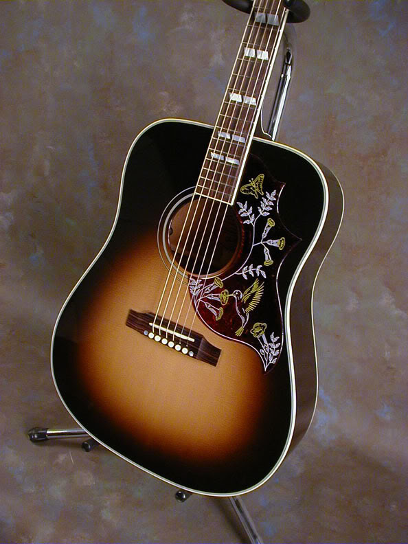 easy play modified gibson hummingbird zager guitars. Black Bedroom Furniture Sets. Home Design Ideas