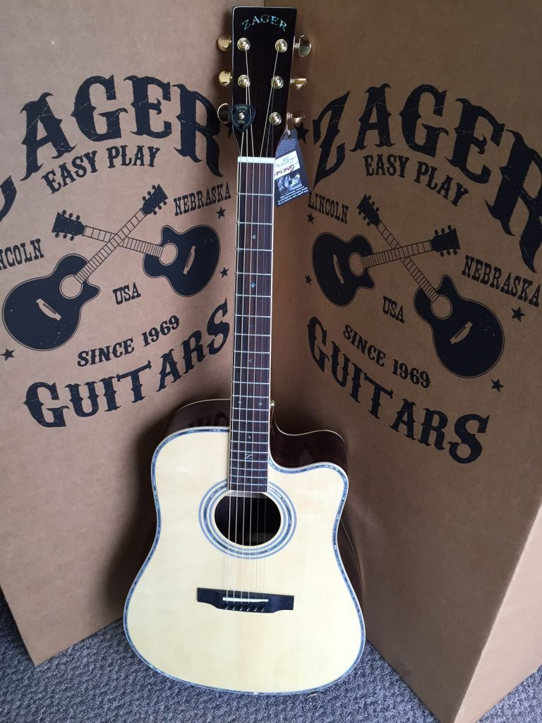 ZAD900CE Rosewood/Spruce Acoustic Electric AURA Pro Series (Discount)