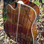guitar back sides rosewood