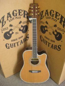 #1702 80CE AURA Acoustic Electric Discount Guitar