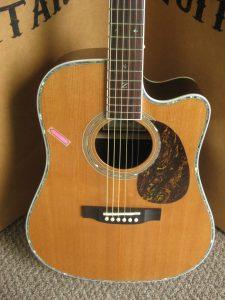 #1724 80CE AURA Discount Acoustic Electric Guitar