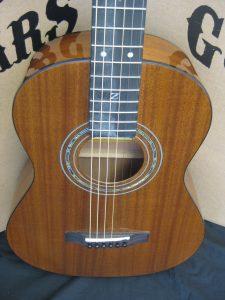 #1757 Travel-E Acoustic Electric Discount Guitar