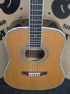 #1764 ZAD80 Acoustic Guitar