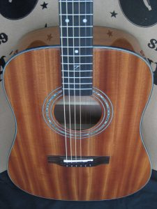 #1784 20E Mahogany Acoustic Electric Discount Guitar