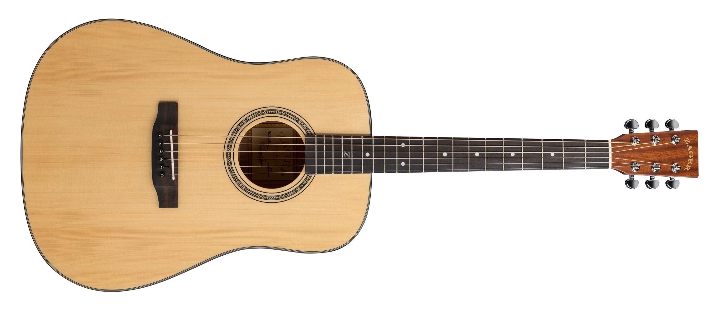 ZAD50 Solid Spruce Mahogany Acoustic