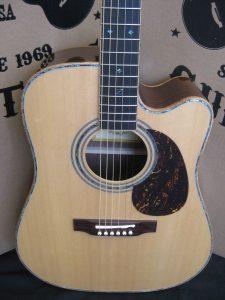 #1799 900CE AURA Acoustic Electric Discount Guitar