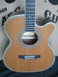 #1810 80CEOM Acoustic Electric Discount Guitar