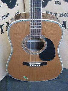 #1825 ZAD80E Acoustic Electric Discount Guitar