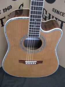 #1827 80CE Acoustic Electric Discount Guitar