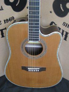 #1839 80CE Aura Acoustic Electric Discount Guitar