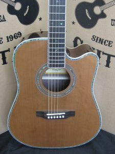 #1840 80CE Acoustic Electric Discount Guitar
