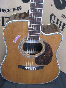 #1850 ZAD80CE Aura Acoustic Electric Discount Guitar