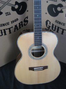 ZAD900OM-E Full Box Custom Acoustic Electric Guitar