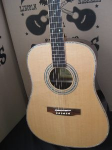 ZAD900-E Full Box Custom Acoustic Electric Guitar