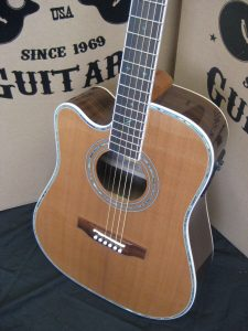 80CE Aura LH Acoustic Electric LEFT HANDED Guitar