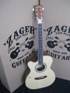 #1859 ZAD50CEOM LH Acoustic Electric Discount Guitar