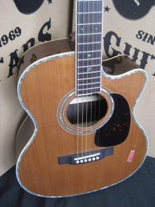 #1864 - 80CEOM Acoustic Electric Discount Guitar