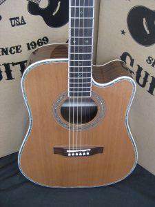 #1867 - 80CE Aura Acoustic Electric Discount Guitar