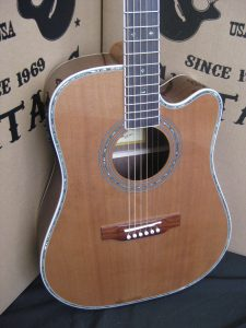 #1885 - ZAD80CE Acoustic Electric Discount Guitar