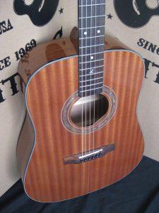 #1877 - ZAD20 Mahogany Acoustic Discount Guitar