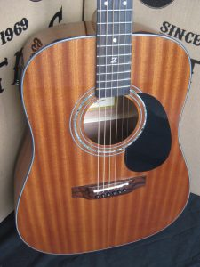 #1887 ZAD20E Mahogany Acoustic Electric Discount Guitar