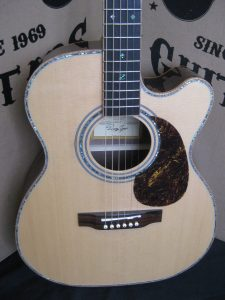 #1889 - 900CEOM Acoustic Electric Discount Guitar