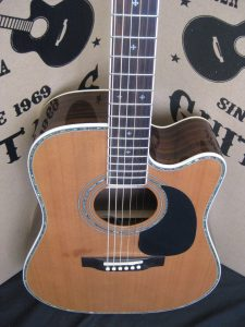 #1894 - ZAD80CE Acoustic Electric Discount Guitar