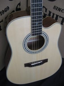 #1895 - ZAD50CE Acoustic Electric Discount Guitar