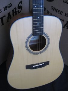 #1900 - ZAD50 Satin Acoustic Discount Guitar