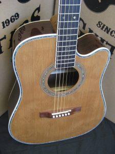 #1902 - 80CE Acoustic Electric Discount Guitar