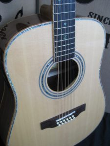 Custom 900E-12 String Acoustic Electric Guitar