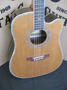 #1910 -  80CE Aura Acoustic Electric Discount Guitar