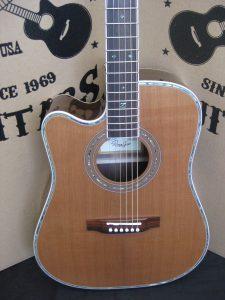 #1919 - 80CE Aura LH Acoustic Electric Discount Guitar